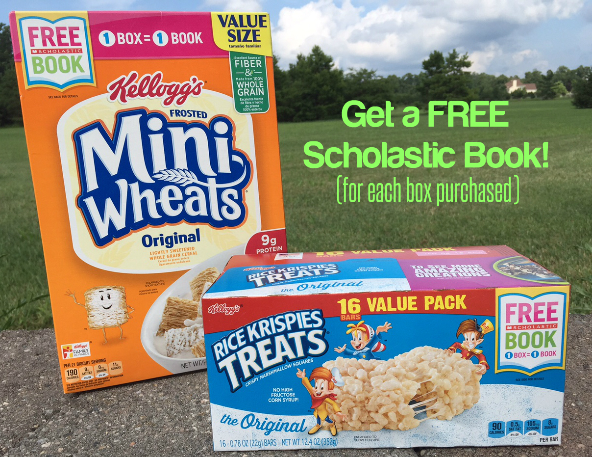 Earn Free Scholastic Books With Kellogg S Family Rewards