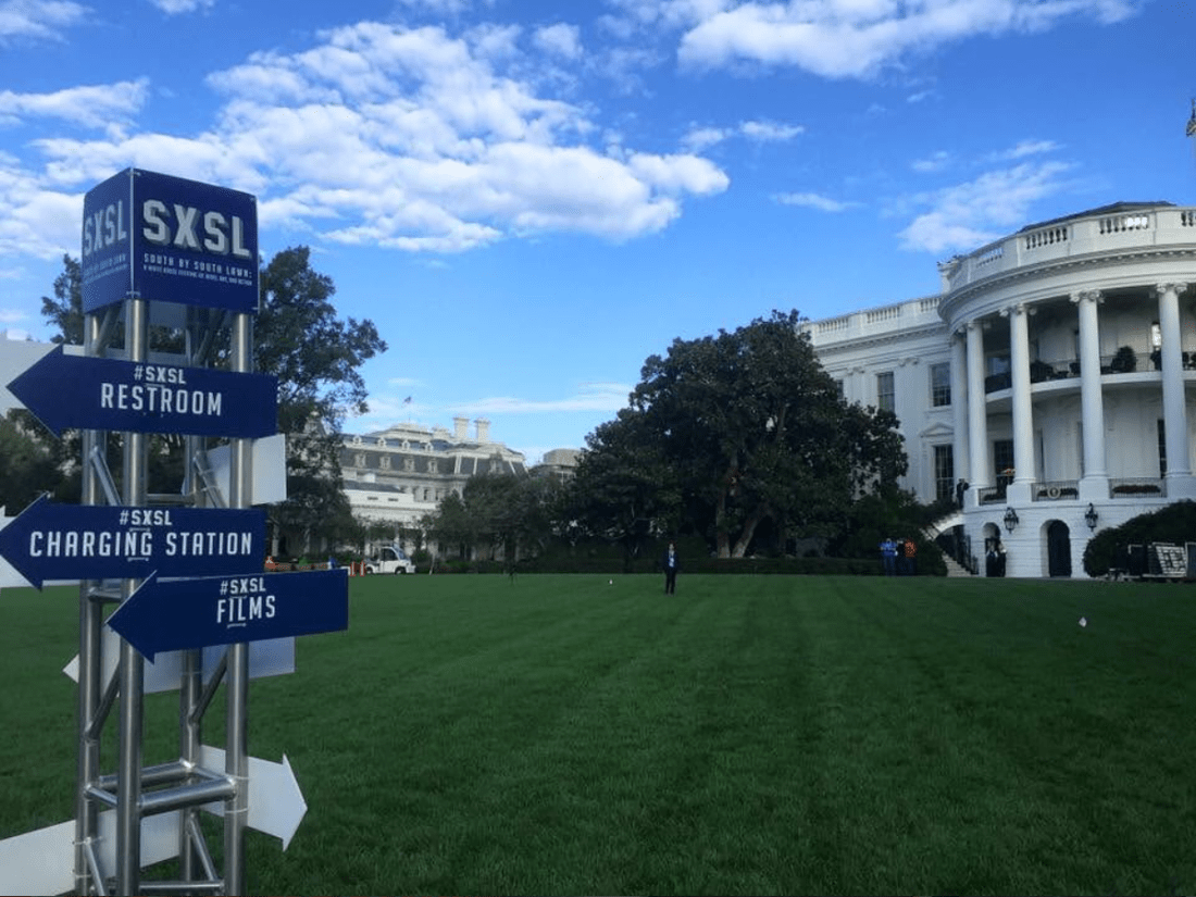 Innclusive invited to SXSL (South by South Lawn) at White House