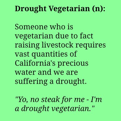 drought vegetarian