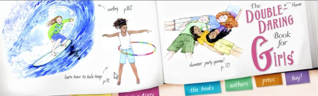 Double Daring Book for Girls. By Andrea J. Buchanan, Miriam Peskowitz. Harper Collins Canada