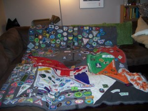 Camp Blanket. Guider Sarah L Dartmouth NS