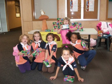 36th Ottawa Brownies & 1 Spark at first Cookie Blitz.