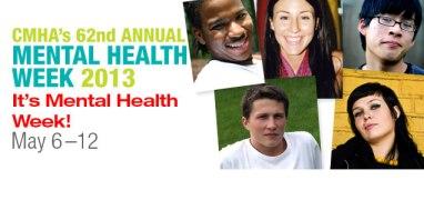 CMHA Mental Health Week 2013