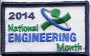 National Engineering Month Badge