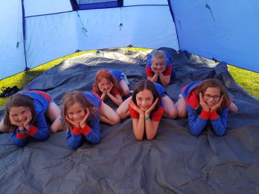 31st Guides Tents 2