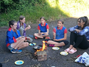 57th Guides Cooking 1