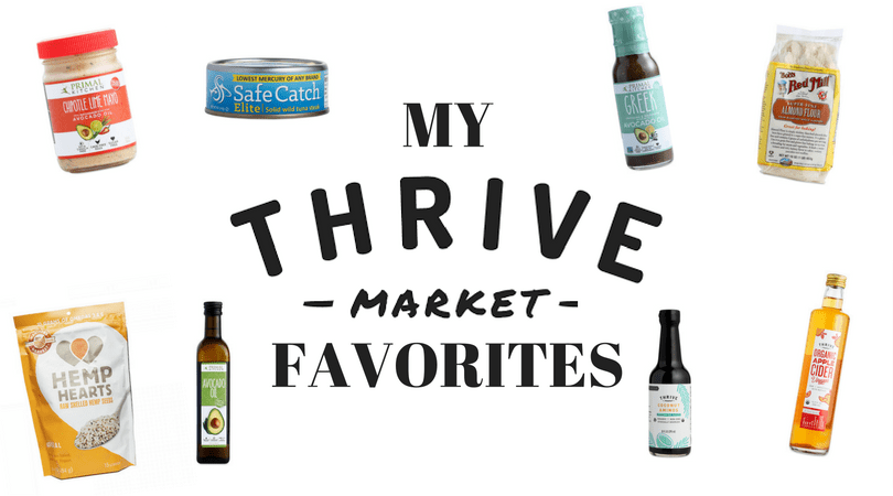 My Favorite Thrive Market Staples