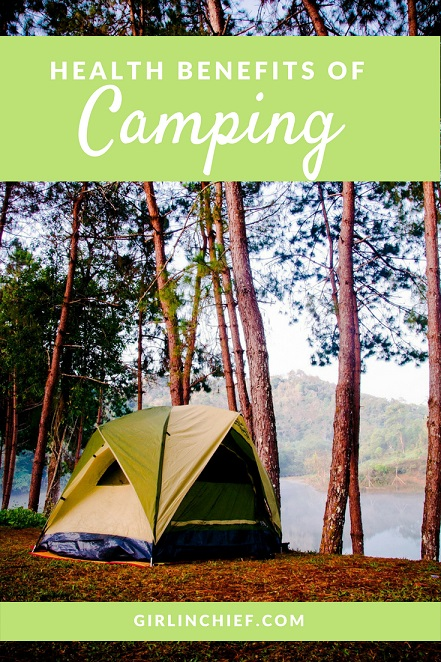 Health Benefits of Camping #camping #travel #optoutside #outdoors