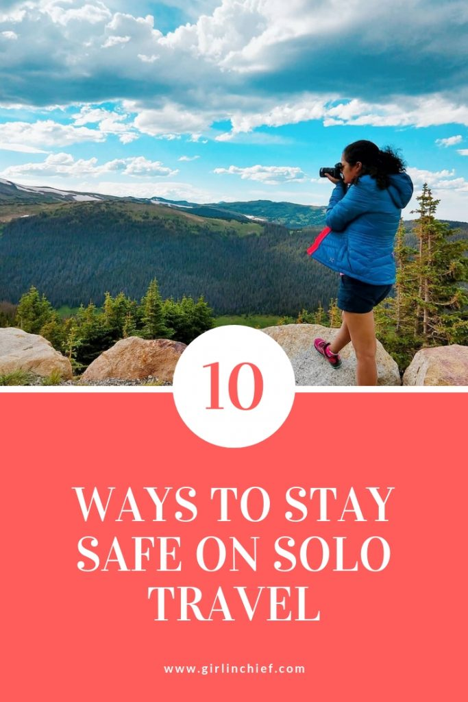 10 Ways to Stay Safe When Traveling Solo  #solotravel #traveltips #travelsafety #traveling #travelling