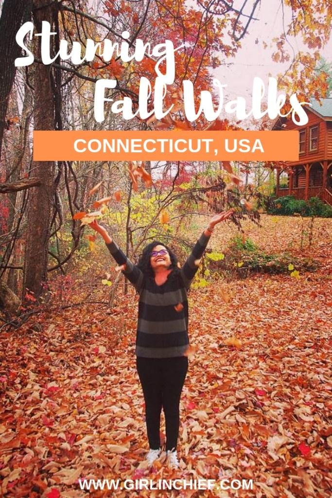 Stunning Fall Walks in Connecticut, USA  #fall #connecticut  #fallwalks #connecticutguide #connecticuttravel