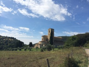 Abbey at Sant'Antimo