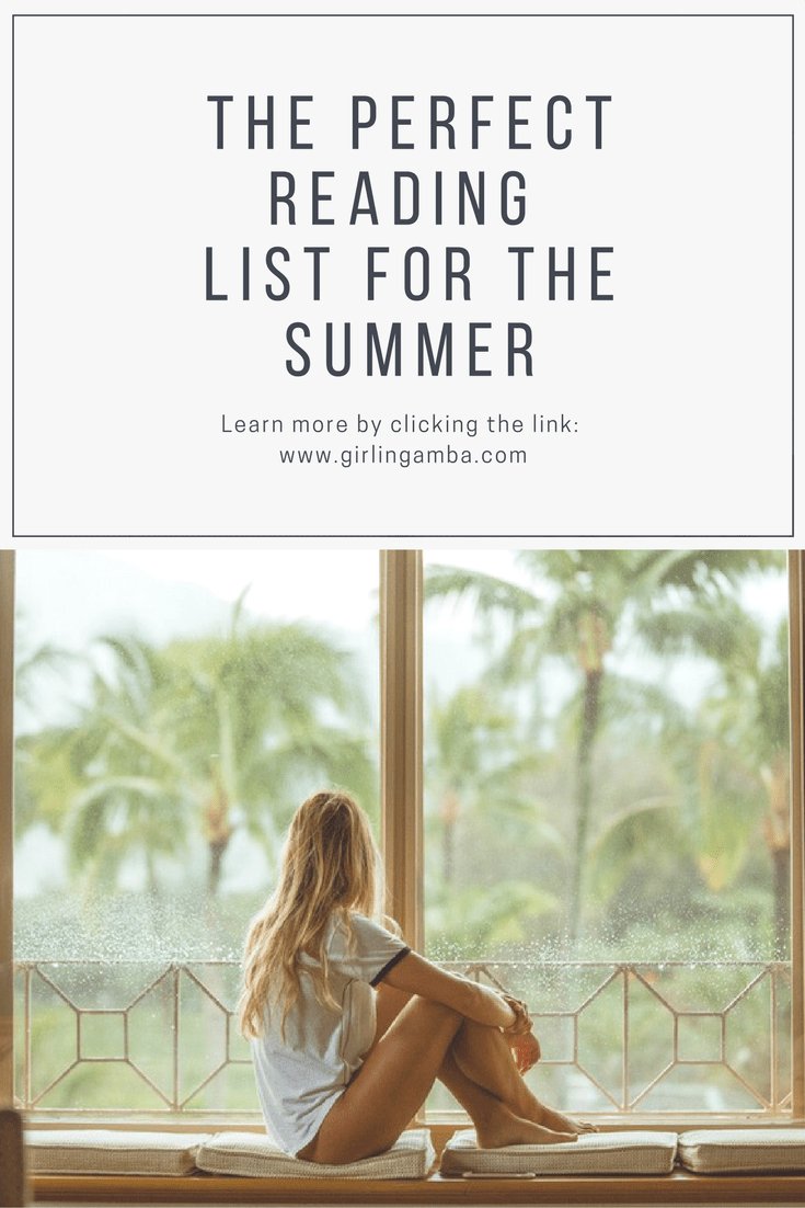 Need something to read for the summer? Check out this perfect summer reading list. Pin for later!