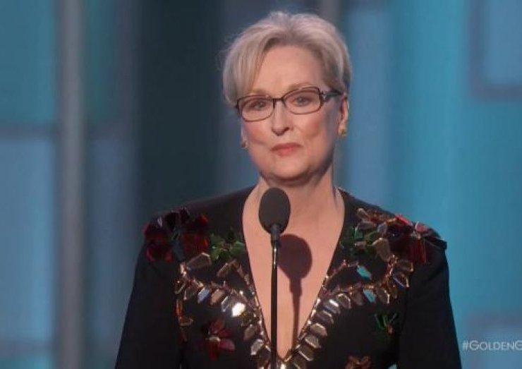 Meryl Streep Golden Globes 2017
