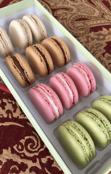 Ordering Ladurée Macarons | GoldBely Review - GIRL IN GAMBA