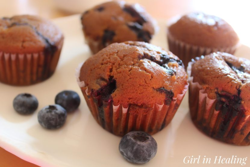 easy gluten free sugar free blueberry muffin recipe