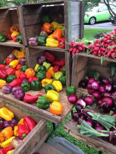 Colorful Farmer's Market Produce