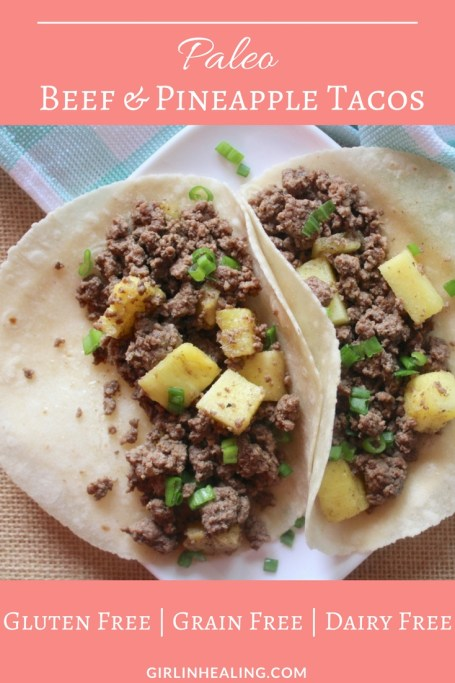 Beef & Pineapple Tacos Pin
