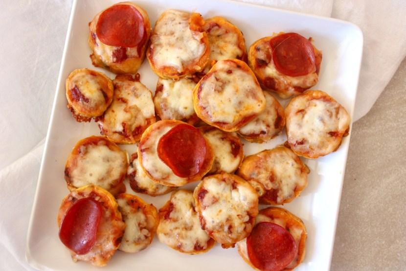 Sweet Potato Pizza Rounds (gluten free, grain free, primal)