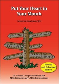 """""""Put Your Heart in Your Mouth"""" book cover by Dr. Natasha Campbell-McBride MD"""