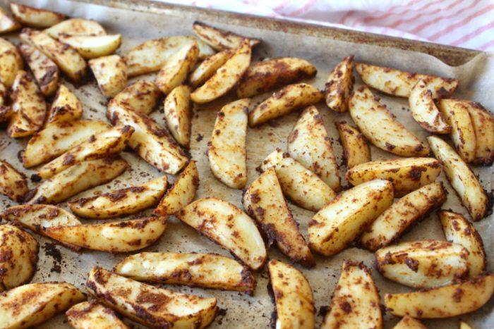 Taco Fiesta Potato Wedges (paleo, whole30)