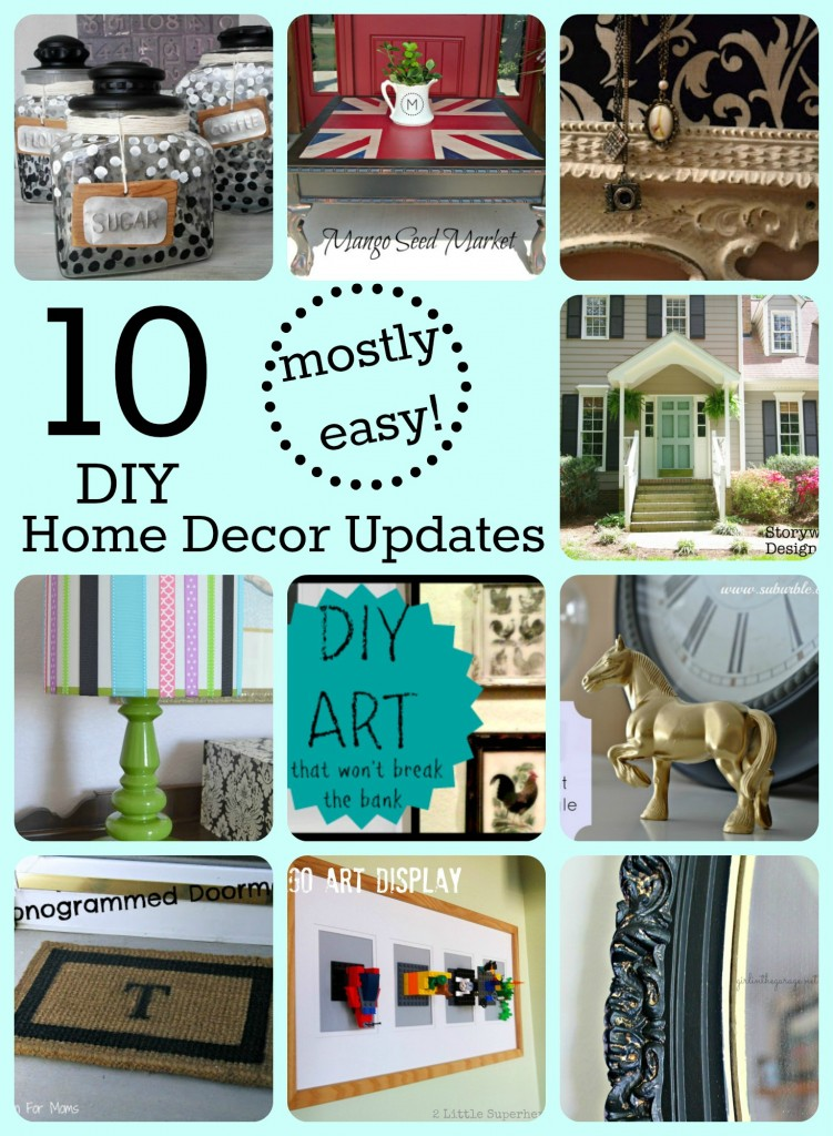 10 Mostly Easy Home Decor Updates Girl In The Garage