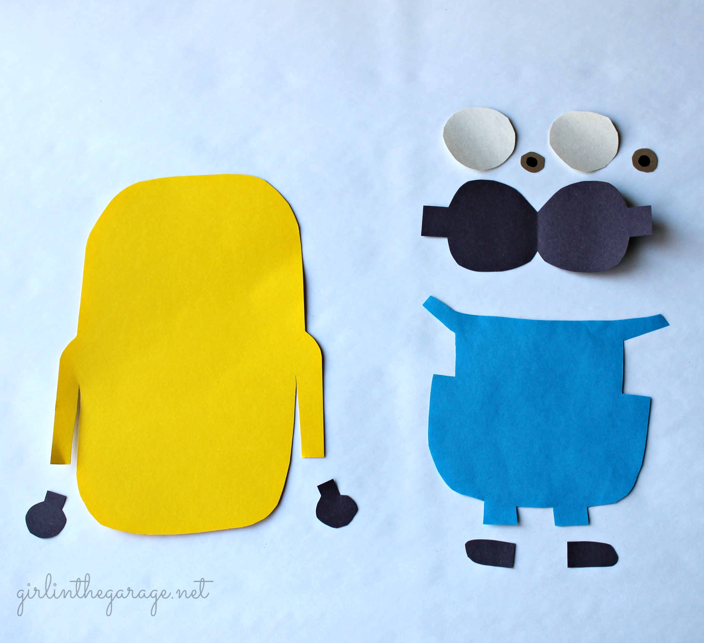 Make Your Own Minion Kids Craft