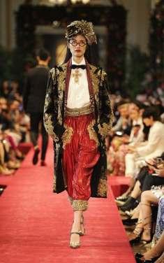 Dolce and Gabbana Alta Moda Hong Kong