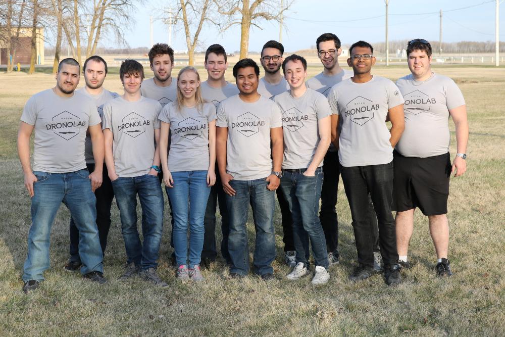 Photo de l'équipe Dronolab