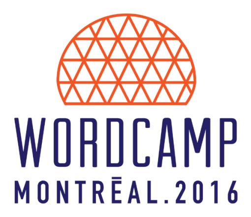 Logo WordCamp Montréal 2016