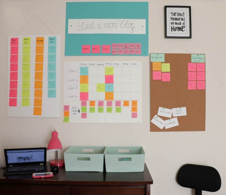 Editorial Calendar of startamomblog