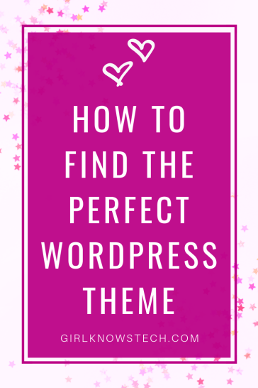 How to find the perfect WordPress Theme for your blog? How to buy a theme you won't regret? How to make sure it's a good choice? I give you all my tips in this blog post! #wordpress #bloggingtips
