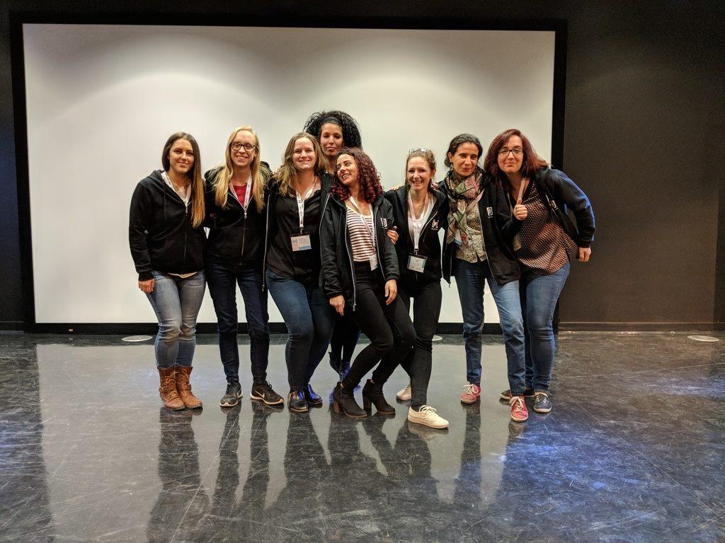 Women Techmakers Montreal 2018 - Organizing team