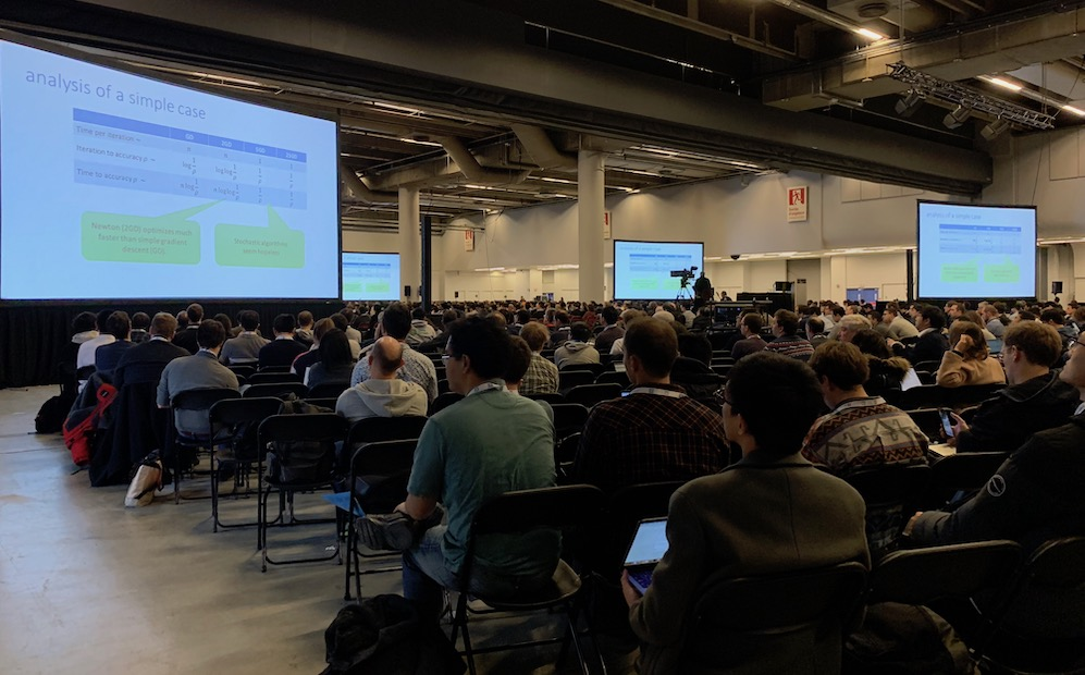 NeurIPS 2018 audience