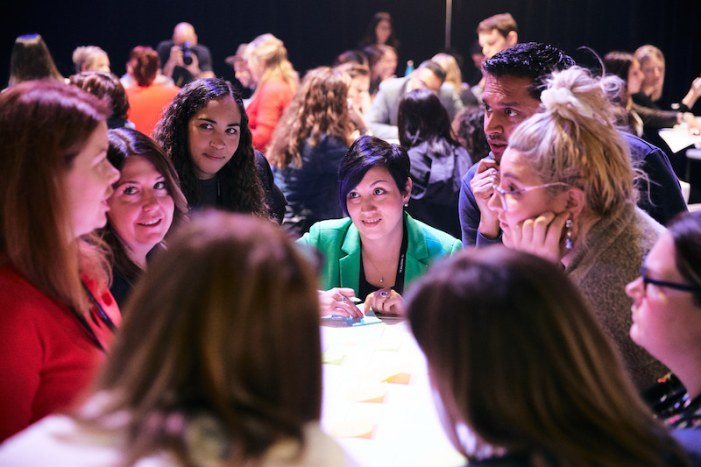 Women in tech during the workshop of Talsom at C2 Montreal