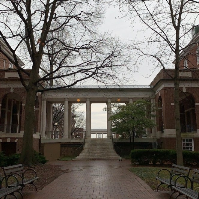 Image of the campus of JHU