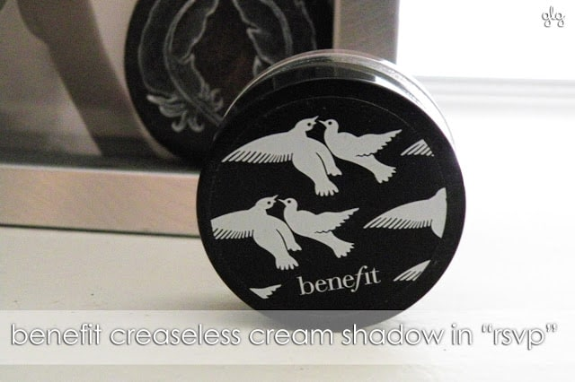 EVERYDAY ESSENTIAL | Benefit's RSVP Creaseless Cream Shadow