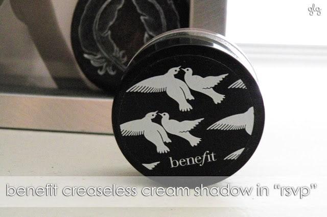 EVERYDAY ESSENTIAL | Benefit's RSVP Creaseless Cream Shadow