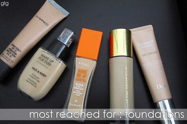 MOST REACHED FOR : FOUNDATION