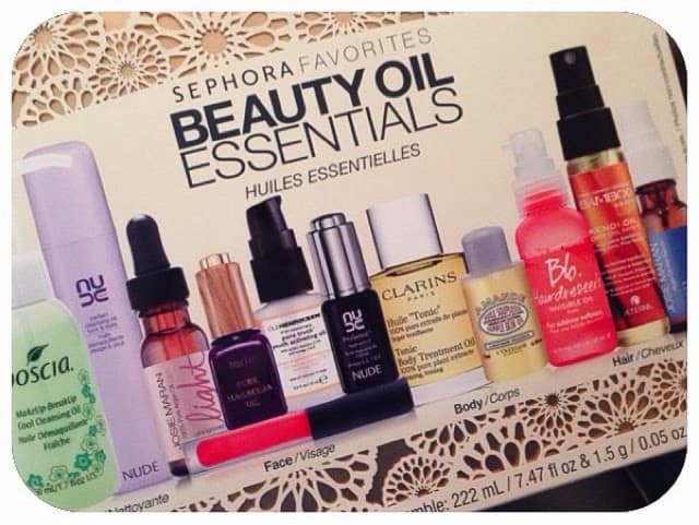 ALL ABOUT OIL   Sephora's Beauty Oil Essentials Kit