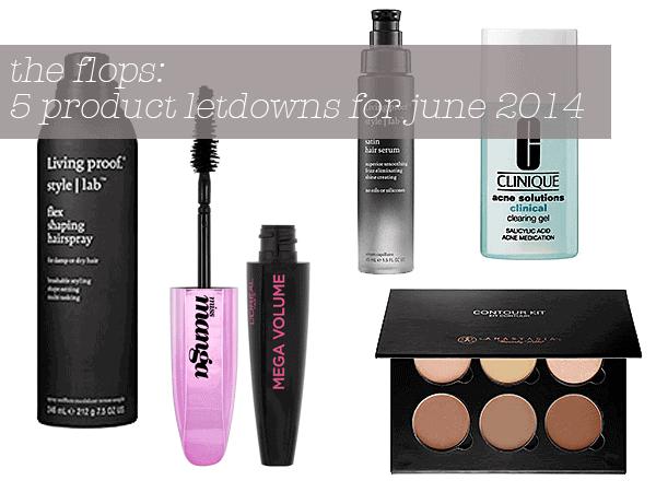 FLOPS   5 Beauty Letdowns for June 2014