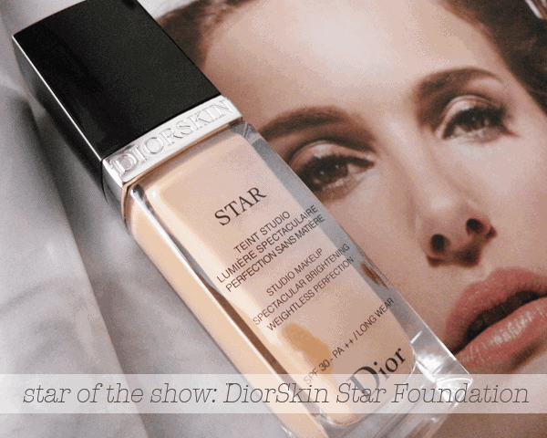 DiorSkin Star Foundation girllovesgloss.com