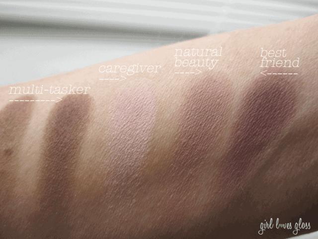 Girl Loves Gloss Makeup and Beauty Blog Tarte Tartelette Palette Matte Eyeshadow swatches