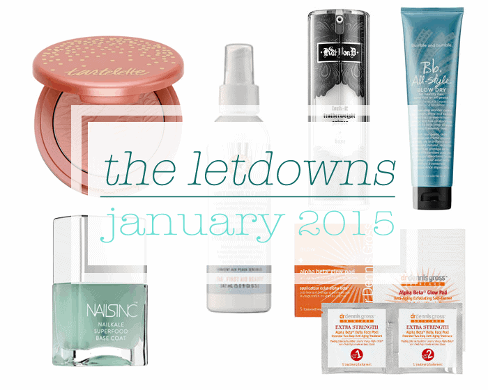 The Letdowns   January 2015
