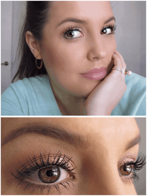 Makeup for when you're feeling sick, rose gold eye makeup