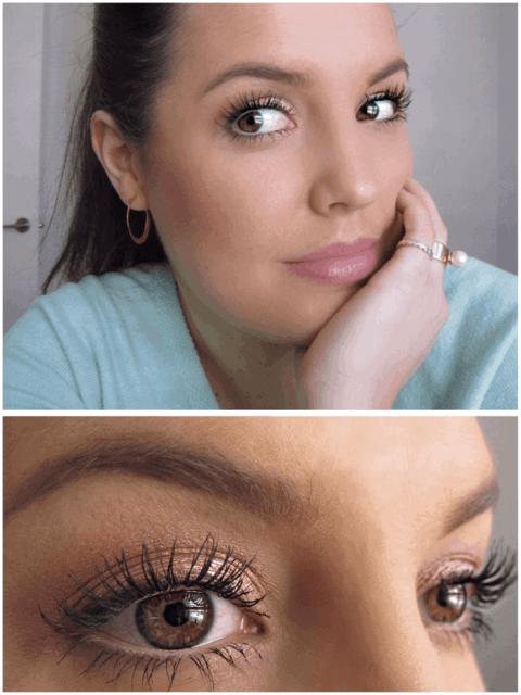 Makeup for when you're feeling sick, rose gold eye makeup