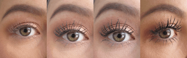 l'oreal voluminous miss manga rock waterproof mascara review before and after