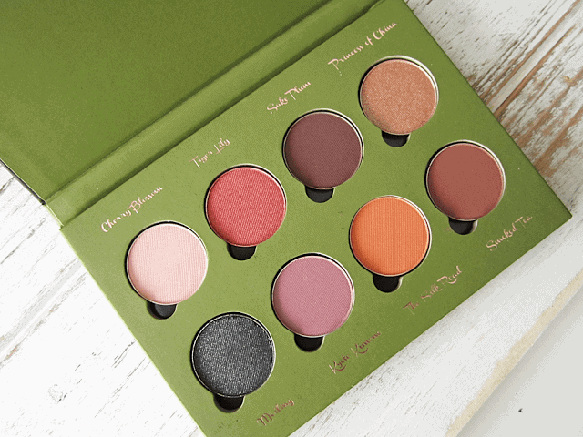 Velvet 59 Exotic Lotus Palette review, swatches and look
