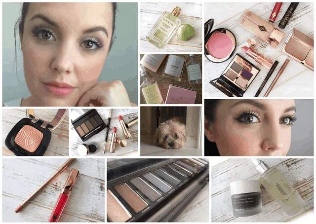 weekend round up, aerin gardenia rattan, urban decay smoky palette, charlotte tilbury giveaway, clarins fall 2015