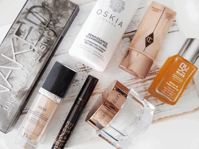 August 2015 Beauty Favourites Charlotte Tilbury, Urban Decay, NUDE, Dior, Oskia