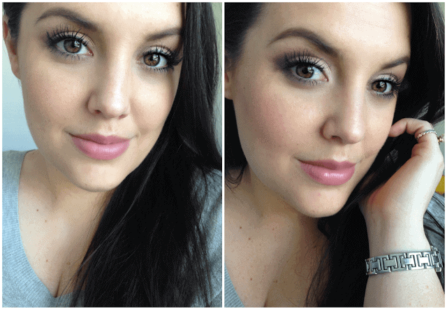 Day to Night makeup using purple, marc jacobs the tease palette, it cosmetics cc cream, charlotte tilbury, urban decay